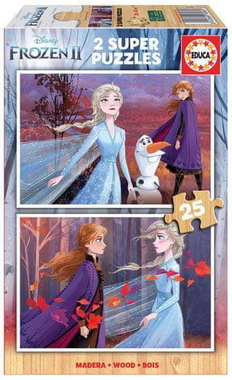 Educa sestavljanka Frozen II, 2x25 kosov