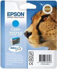 Epson T0712, azurová (C13T07124011)