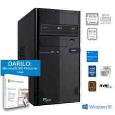 PCplus e-office namizni računalnik + DARILO: 1 leto Microsoft 365 Personal (141120)