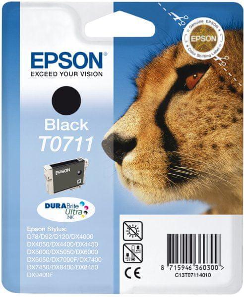 Epson T0711, černá (C13T07114011)