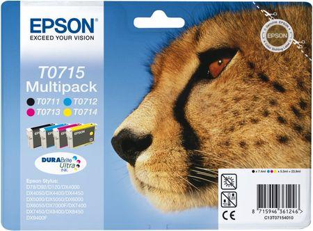Epson T0715 - CMYK Multipack (C13T07154010)