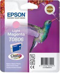 Epson kartuša T0806, svetlo magenta (C13T08064011)