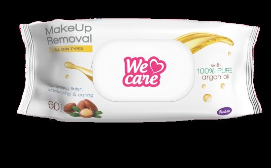 Violeta WeCare robčki MakeUp 60/1 z araganovim oljem