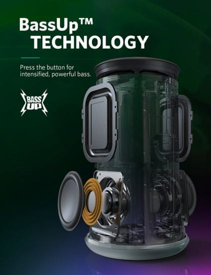 Anker Soundcore Flare Bluetooth zvočnik + torbica za prenašanje