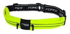 Force Opasek běžecký POUCH - fluo žlutý