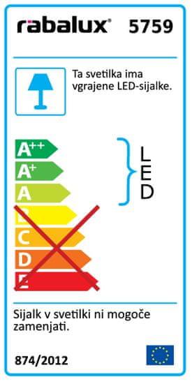 Rabalux viseča svetilka Addison LED 5759