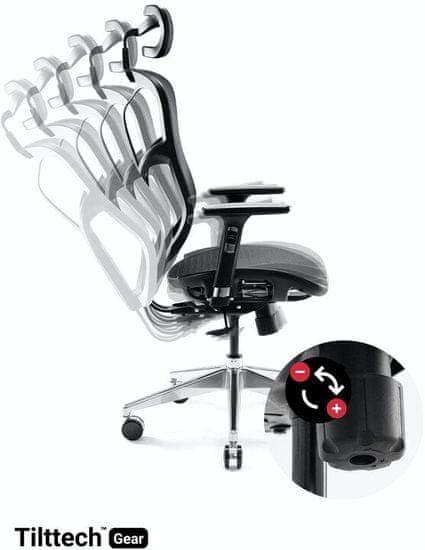 Diablo Chairs V-Basic, fekete (5902560334418)