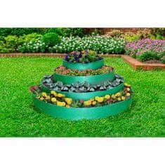 GardenPlast Flexibilní květinový záhon, 4 patra, d = 40-60-80-100 cm