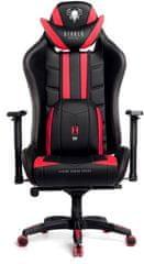 Diablo Chairs X-Ray, XL, fekete/piros (5902560336115)