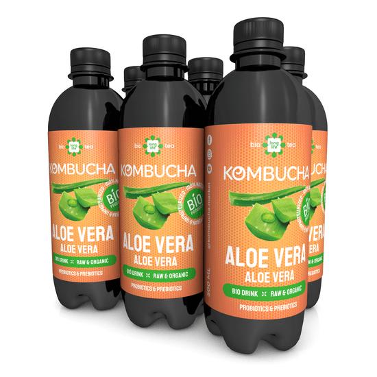 LONG LIFE BIOTEA Kombucha Aloe Vera 0.5l - 6ks
