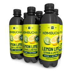 LONG LIFE BIOTEA Kombucha Citron a Limetka 0.5l - 6ks