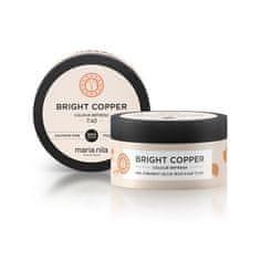 Maria Nila Bright Copper gyengéd, tápláló hajmaszk színpigmentek nélkül(Colour Refresh Mask) (Mennyiség 300 ml)