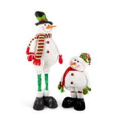 Family Christmas Tekstilni snežak s teleskopsko nogo and 80 cm