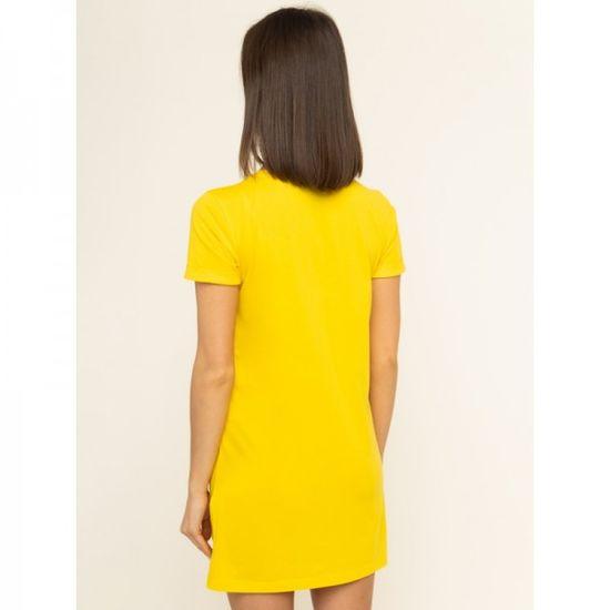 Emporio Armani Krátké žluté dámské šaty Emporio Armani - XS