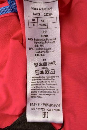 Emporio Armani Dámské sportovní tričko bez rukávu Emporio Armani růžové - XS