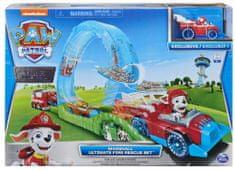 Spin Master Mancsőrjárat - Tűzoltóautó és pálya játékautókhoz