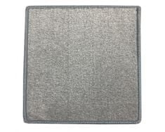 Betap Kusový koberec Eton 2019-73 šedý čtverec 60x60