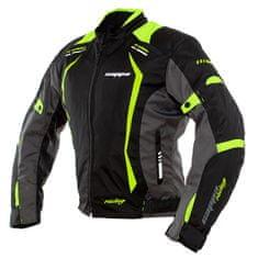 Cappa Racing AREZZO textil motoros dzseki fekete/zöld M