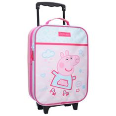 """Vadobag Otroški potovalni kovček na kolesih """"Pujsa Peppa"""" - roza"""
