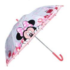 "Vadobag Mechanický Dáždnik ""Minnie Mouse - Party"" - ružová"