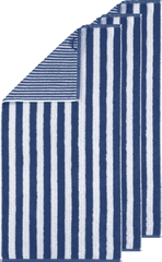 Cawö Frottier ručník z kolekce STRIPES 50x100 cm 3 ks blau