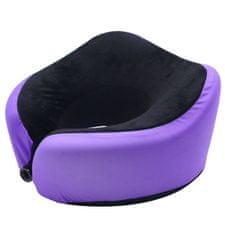 Mia Toro Cestovní polštářek MIA TORO MA-033 - fialová