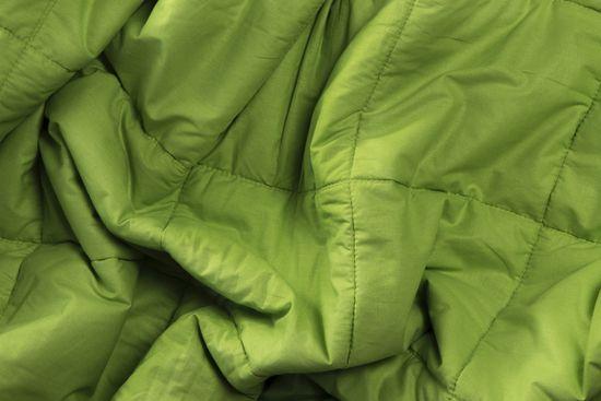 NiDū Zátěžová přikrývka pro dospělé 7,0kg zelená