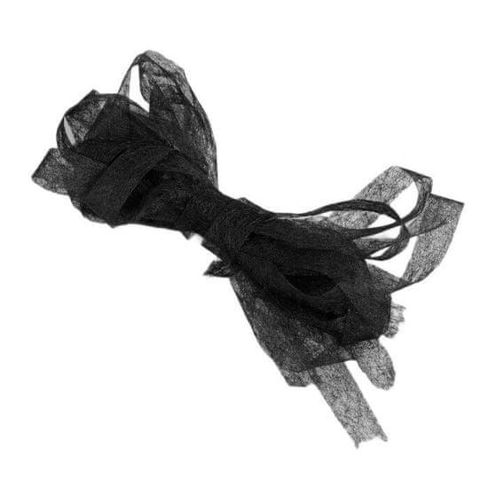 Gamma 15 ks, lepicí pavučina, 10 mm, 3 m, černá