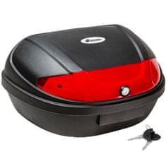 tectake Moto kufr- objem 48 l - černá