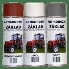 Antikorozní základ syntetický ve spreji, rychleschnoucí - 400ml, bílá/mat