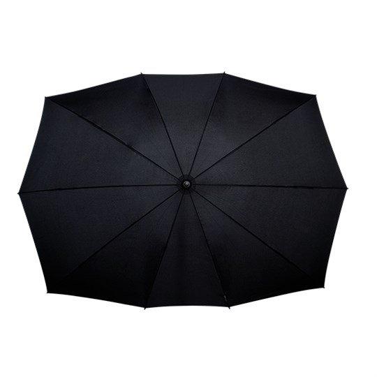 Elipsasti Twin dežnik - črn