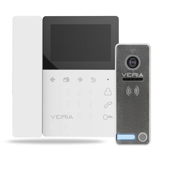 Veria SET Videotelefon VERIA 7043B bílý + VERIA 230