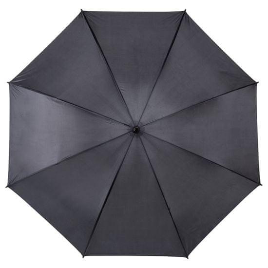 Družinski dežnik - črn