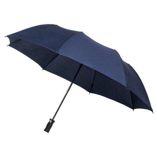 Unisex dežnik zložljiv avtomatski - moder