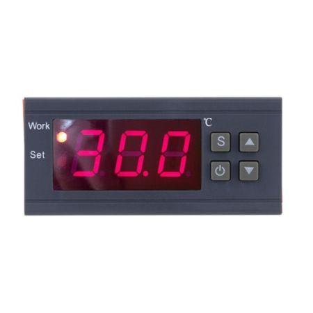 Digitální elektronický termostat s relé 10 A, 220 V, externí čidlo