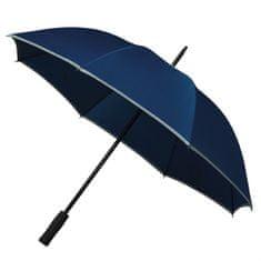 Mladinski dežnik z odsevom - moder