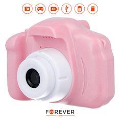 Forever SKC-100 otroški fotoaparat s kamero, roza