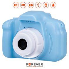 Forever SKC-100 otroški fotoaparat s kamero, moder