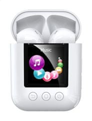 REMAX TWS-19 brezžične slušalke, bele