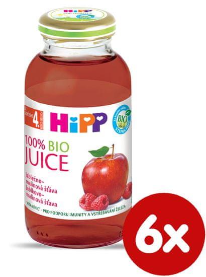 HiPP BIO Jablečno-malinová šťáva - 6x200ml
