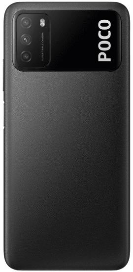 POCO M3, 4 GB/64GB, Power Black