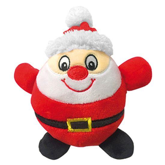 RECORD igračka za pse, zviždanje, Djed Mraz, 16 cm