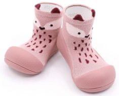 Attipas dievčenské topánočky Fox Pink, 19, ružová