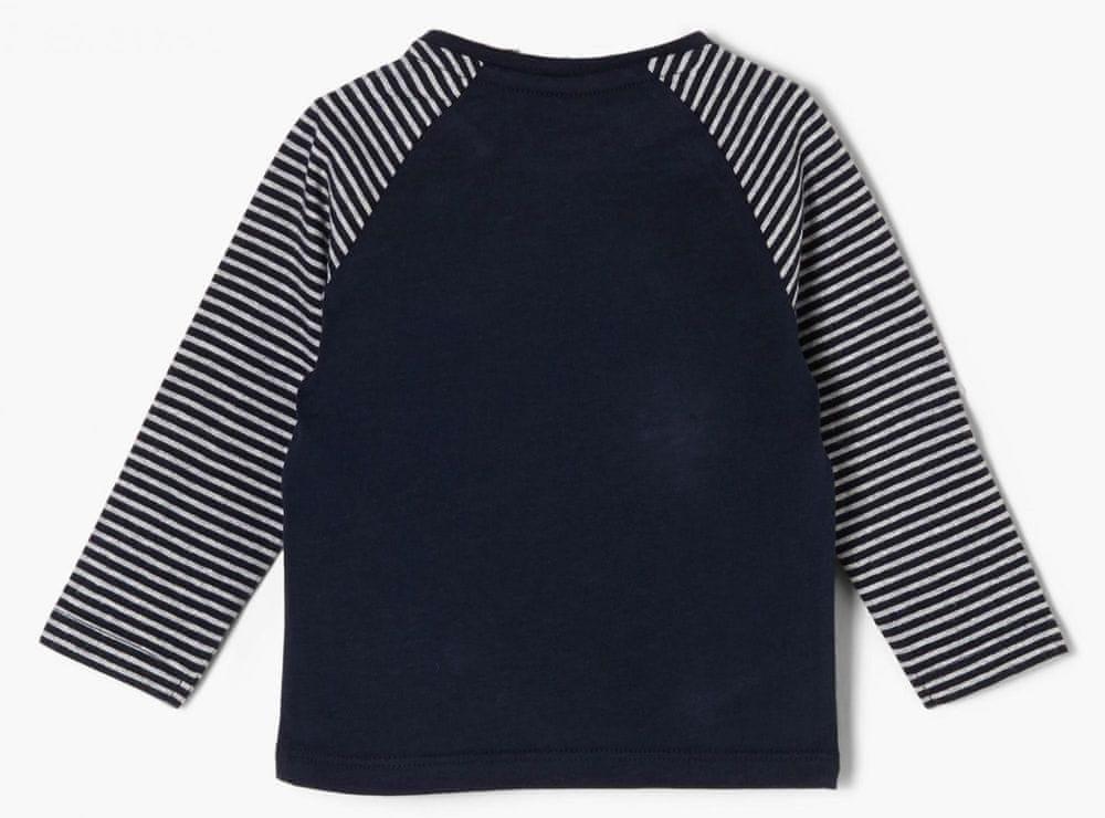 s.Oliver chlapecké tričko 405.10.011.12.130.2053843 50 - 56 tmavě modrá