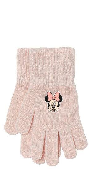 """Eplusm Dekliške prstne rokavice """"Minnie Mouse"""" - roza"""