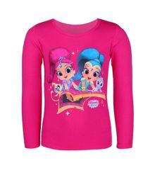 """SETINO Dekliška majica z dolgimi rokavi """"Shimmer and Shine"""" - roza - 98 / 2–3 leta"""