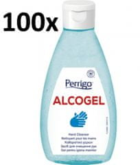 PERRIGO 100x ALCOGel Hand Cleanser 200ml - antibakteriální gel na ruce
