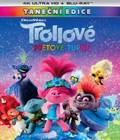 Trollové: Světové turné (2 disky) - Blu-ray + 4K Ultra HD