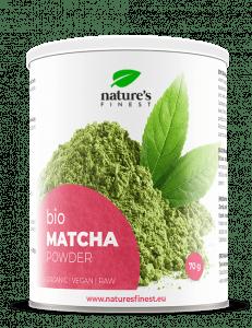 Nature's finest Bio matcha čaj v prahu, 70 g