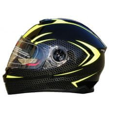 MAXX FF 965 Helma se sluneční clonou černozelená reflex Velikost: S